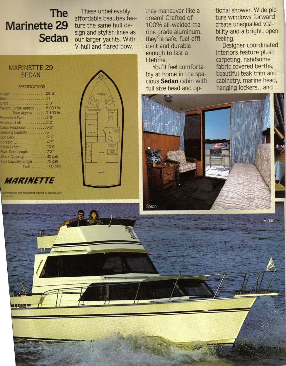 An Unofficial Website Of Repair Tricks And Techniques For Marinette Boat Station Wiring Diagram Two 29brochure 2